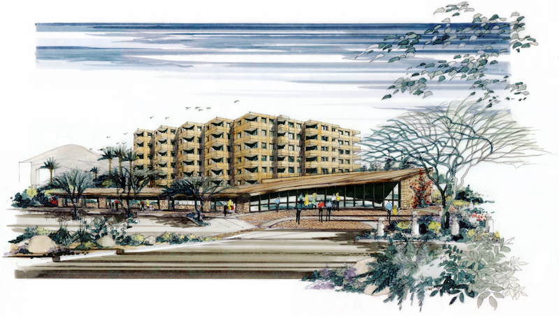 2006 Schematic Design Sketch for City Brewery Multi-Use Project