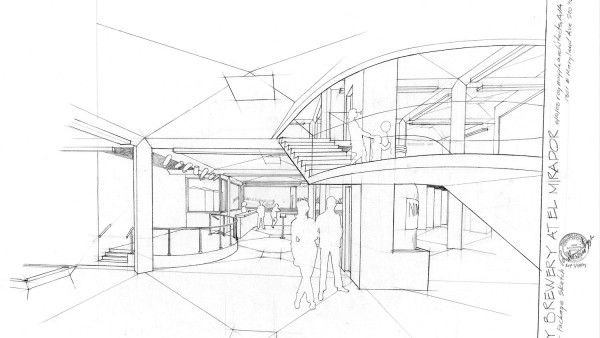 72Concept Sketch for Downtown City Brewery by Nimbus Brewery