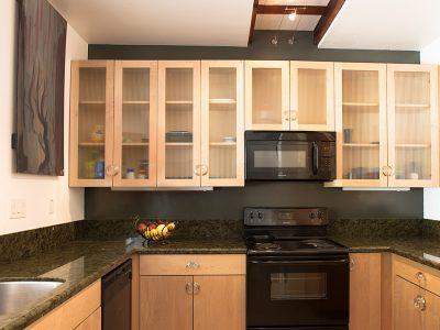 84Guest House Kitchen, Bed & Bath